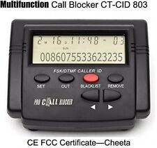 Cheeta® Powerful Multifunction Call Blocker With Call ID Display,Block All ID