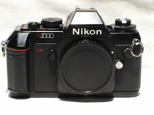 NIKON N2000 35mm SLR Film Camera Body with  cap SN2168554