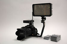 Pro XB-12 LED EOS HD video light F970 for Canon 80D 70D 60D 7D mark ii 5D iii T6