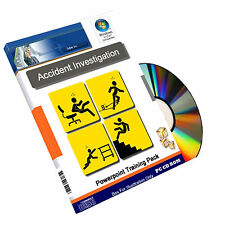 Accident Reporting Investigation Health Safety Powerpoint Training Course on CD