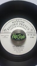 LITTLE RICHARD 45 RE-GET RICH QUICK/THINKIN' BOUT MY MOTHER- PRE-SPECIALTY R&B