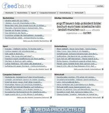 PHP Feed Base - News Porrtal (ähnlich Google News)