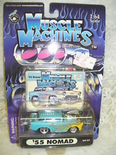 '55 Nomad Chevy Muscle Machines 2002 Never Removed