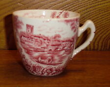 Red Transfer Cup - Pountney & Co England - The Thames @ Wararave & Henley Bridge