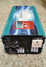 5000W LF Pure Sine Wave, Power Inverter, DC12V to AC 230V with Charger UPS LCD