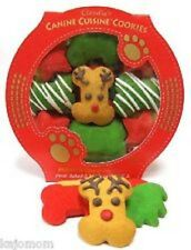 Claudia's Canine Cuisine HOLIDAY Christmas DOG COOKIES Treat Natural USA Red