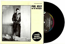 "PAUL KELLY - MOST WANTED MAN IN THE WORLD - RARE EP 7"" 45 RECORD PIC SLV 1990"