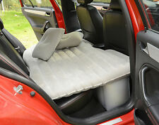 Heavy Duty Car SUV Travel Inflatable Mattress Back Seat Camping Air Bed w/ Pump