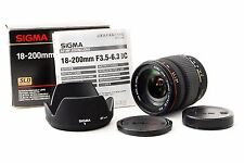 ''Near Mint'' Sigma 18-200mm f/3.5-6.3 DC Lens For Minolta/Sony From Japan #834