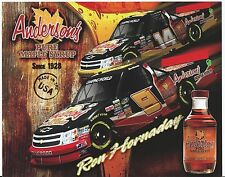 2013 KEVIN HARVICK/RON HORNADAY JR, #9/14 ANDERSON'S MAPLE SYRUP CWTS POSTCARD!