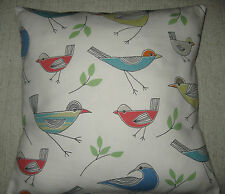 Nautical Cushion Cover Sea Bird - Seaside - Coastal John Lewis Fabric - Pillow