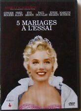 DVD 5 MARIAGES A L'ESSAI - Marilyn MONROE / Ginger ROGERS / Fred ALLEN