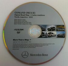 MERCEDES BENZ 2011 C CLK GL GLK M R CLASS NAVIGATION DISC DVD CD DISK OEM MAP