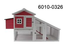 MCombo 70'' Wooden Chicken Coop Hen House Rabbit Hutch backyard Pet Cage 0326
