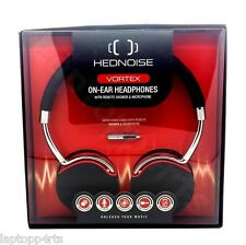 Hednoise Vortex Headset Bass On Ear Headphones With Remote Mic Galaxy S7 Edge