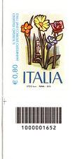 ITALIA. 2015 ENIT, FRANCOBOLLO EURO 0,80 CON CODICE A BARRE, MOLTO RARO