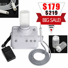Portable Dental Ultrasonic Piezo Scaler Handpiece Tips Bottles f/ EMS WOODPECKER