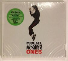 MICHAEL JACKSON: Number Ones - NEW SEALED CD!! Free First Class Ship In U.S.