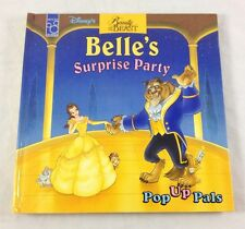 Disney Beauty & The Beast Belle Surprise Party Pop Up Pals Book 1994 Mouse Works