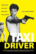 Taxi Driver Rare Vintage Movie Poster Large 24x36 Pop Culture