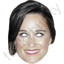 Pippa Middleton Royal Celebrity Card Mask - All Our Masks Are Pre-Cut!