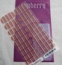 Jamberry Spring Break 9C94 Nail Wrap  (Full Sheet )  New