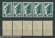 FRANCE - 1941 YT 502 5x - TIMBRES NEUFS** LUXE
