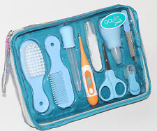 Baby Grooming and Healthcare Kit with Travel Case 10 piece BRAND NEW USA SELLER