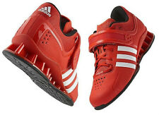 adidas adiPower Powerlifting Platform Shoes Core Energy Red V24382 Sz 16 NWT