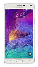 "Samsung Galaxy Note 4 SM-N910A *UNLOCKED* AT&T 4G LTE 5.7"" 32GB Smartphone WHITE"