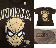 MARVEL NBA INDIANA Spider-Man Men's Graphic Tee(Small) - New