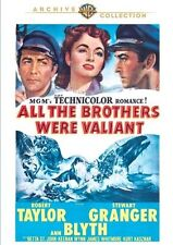 ALL THE BROTHERS WERE VALIANT - (1953 Robert Taylor) Region Free DVD - Sealed