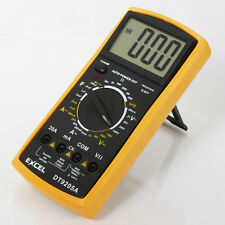 New Hot AC/DC EXCEL DT9205A LCD Digital Multimeter Electrical Voltage Meter