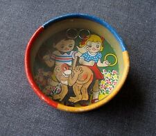 VINTAGE DOUBLE SIDED MONKEY W/ RINGS & BEAR W/ TINY BALLS DEXTERITY GAME JAPAN