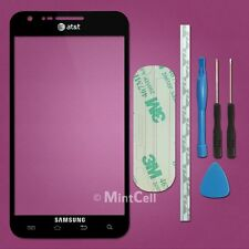 Black LCD Screen Outer Glass Lens For Galaxy S2 S II AT&T Skyrocket SGH-I727