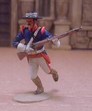 Marx Mexican Round Hat  Running With Rifle #1  Alamo Zorro  Pro Painted