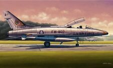 Trumpeter 1/48 F-100F Super Sabre Plastic Model Kit TSM2840