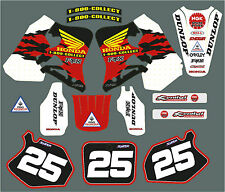 CR 125 & 250 95-97 Mcgrath style graphic/decal kit PERSONALISED FREE UK SHIPPING