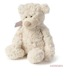 JOON FREDDY ROSY PLUSH TEDDY BEAR, CREAM, 10.5 INCHES