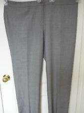 $250, NWT, 100% authentic, Marina Rinaldi in gray color pants in size 22W/31