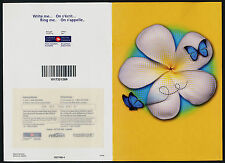 Canada 2045i MNH Write Me -Ring Me - Butterfly & Flower