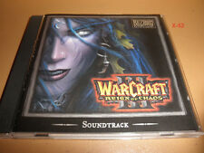 WARCRAFT III cd REIGN of CHAOS game soundtrack BLIZZARD entertainment OST