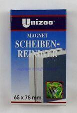 Unizoo Scheibenmagnet 65x75mm Magnetscheibenreiniger  Algen Magnet