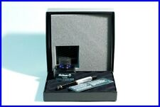 Mint Set of a GREY-marbled  PELIKAN M200 Fountain Pen with 4001 Ink Pot in Box