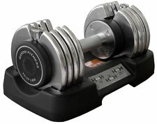 Bayou Fitness 10-50 lb Adjustable Dumbbell Weight Exercise BF-0150 NEW