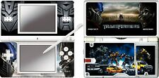 nintendo DS Lite - TRANSFORMERS - 4 Piece Decal / Sticker Skin