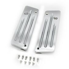 CNC Machined Deep Cut Saddlebag Latch Covers For 93-13 Harley Touring FLH FLT
