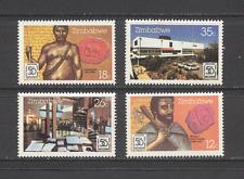 Zimbabwe 1985 Tribal/Archives/Writing/History/Heritage/Buildings 4v set (n19002)