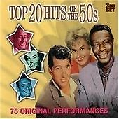 Top 20 Hits Of The 50s, Various Artists, Very Good Condition Box set