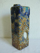 MAREI XL LOCHVASE 2006 FAT LAVA CHIMNEY HOLE TALL VASE GERMAN POTTERY FAT LAVA